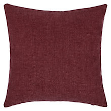 Buy John Lewis Burton Cushion, Mulberry Online at johnlewis.com