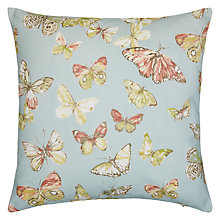 Buy John Lewis Syon Cushion, Duck Egg Online at johnlewis.com