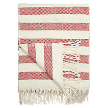Buy John Lewis Coastal Stripe Throw Online at johnlewis.com