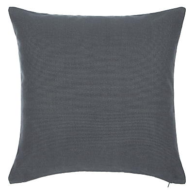 John Lewis Plain Cotton Cushion
