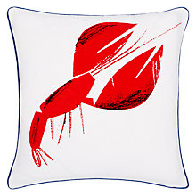 Buy John Lewis Lobster Cushion, Multi Online at johnlewis.com