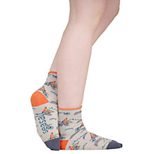 Buy Seasalt Arty Rowers Cirrus Ankle Socks, Blue Online at johnlewis.com