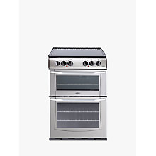 Buy Belling E552 Freestanding Electric Cooker, Silver Online at johnlewis.com