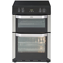 Buy Belling FSE60MFTI Freestanding Electric Cooker, Stainless Steel Online at johnlewis.com