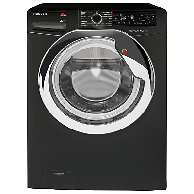 Image of Hoover Dynamic Next Premium DXP 410AIB3 Freestanding Washing Machine, 10kg Load, A+++ Energy Rating, 1400rpm Spin, Black