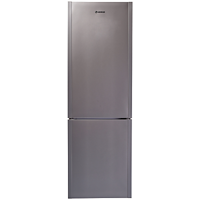 Image of Hoover Dynamic HDCF6182X Freestanding Fridge Freezer, A+ Energy Rating, 60cm Wide, Stainless Steel