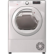 Buy Hoover Dynamic DMHD1013A2 Heat Pump Condenser Tumble Dryer, 10kg Load, A++ Energy Rating, White Online at johnlewis.com