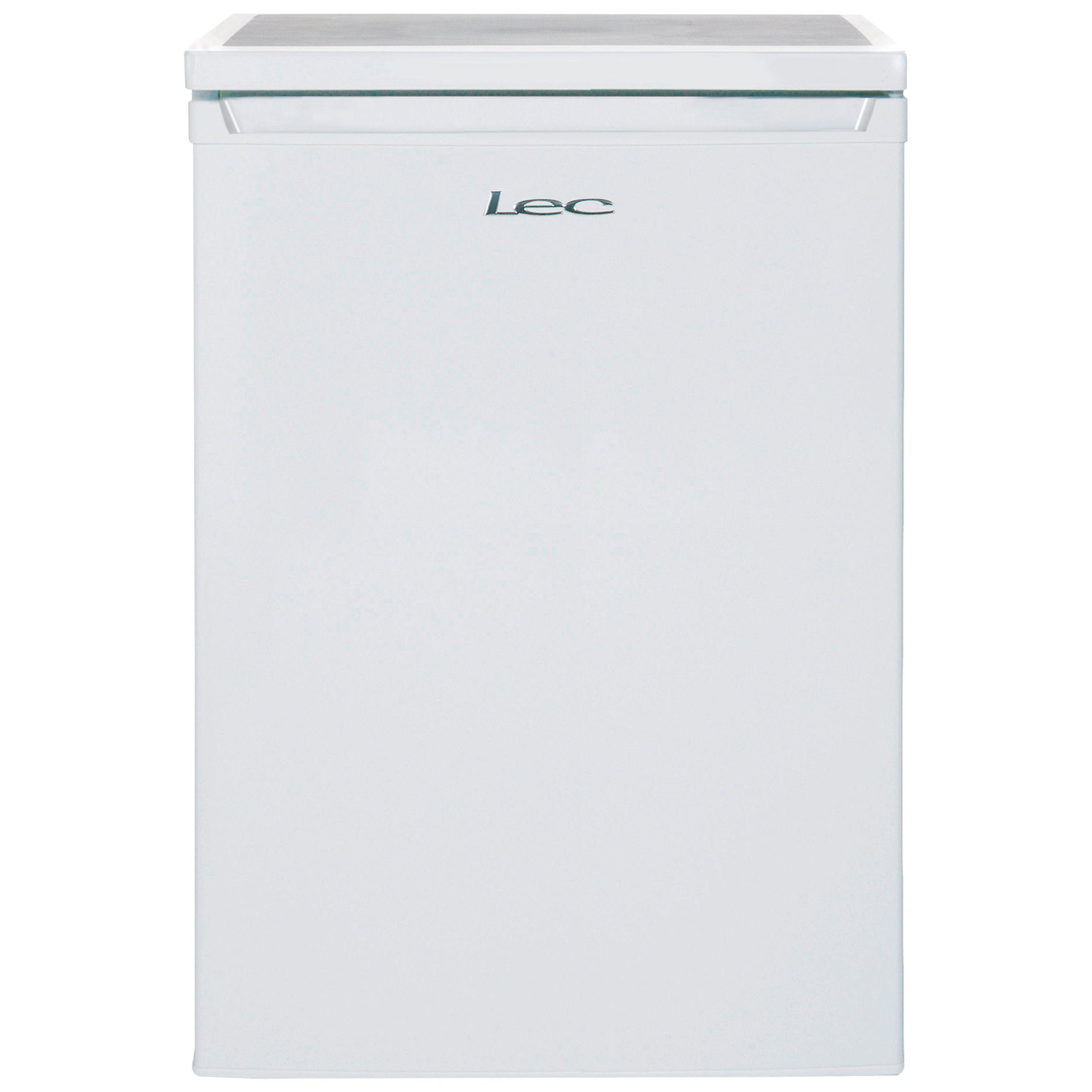 LEC Lec L6014W Undercounter Larder Fridge, A+ Energy Rating, 60cm Wide, White