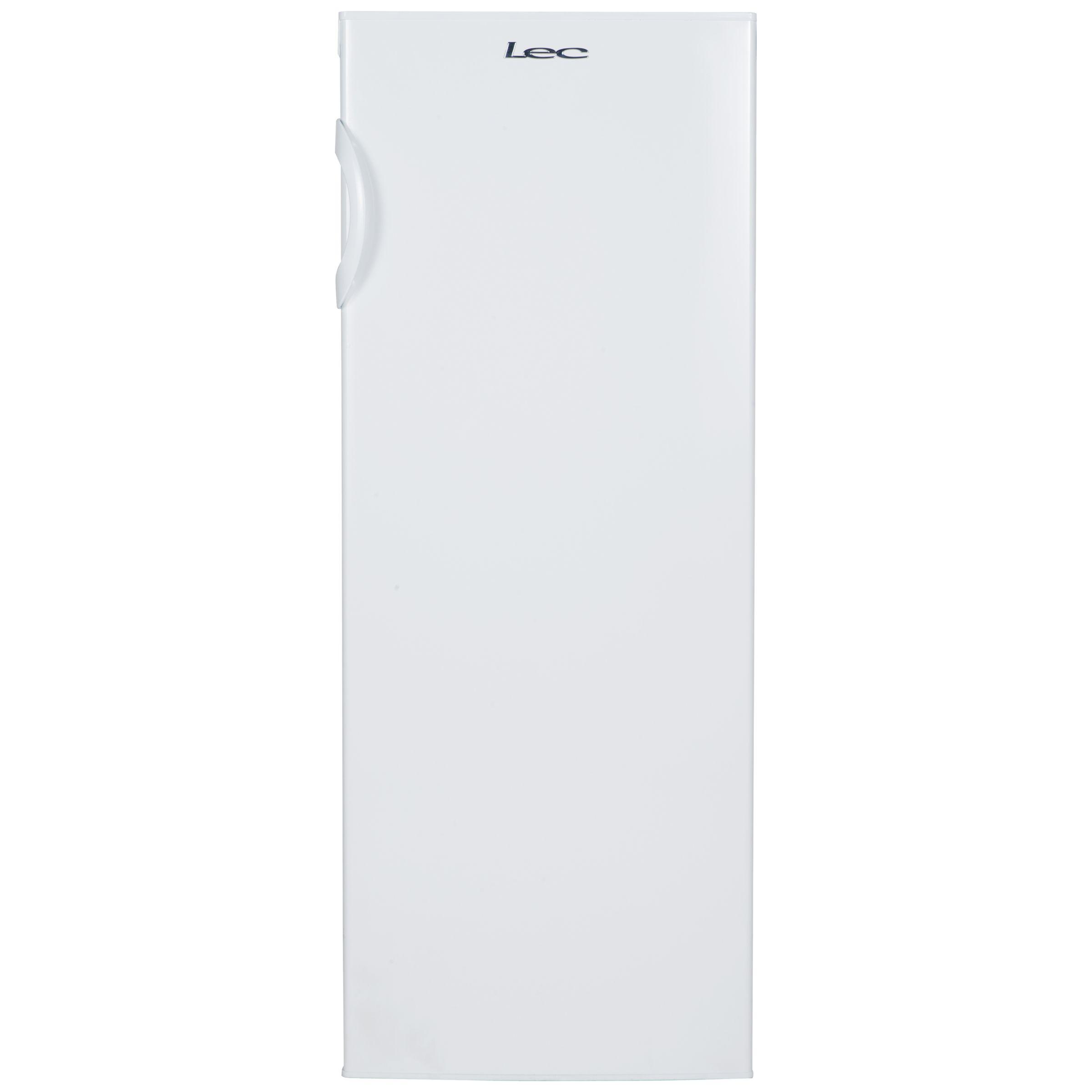 LEC Lec TL55144W Freestanding Tall Larder Fridge, A+ Energy Rating, 55cm Wide, White