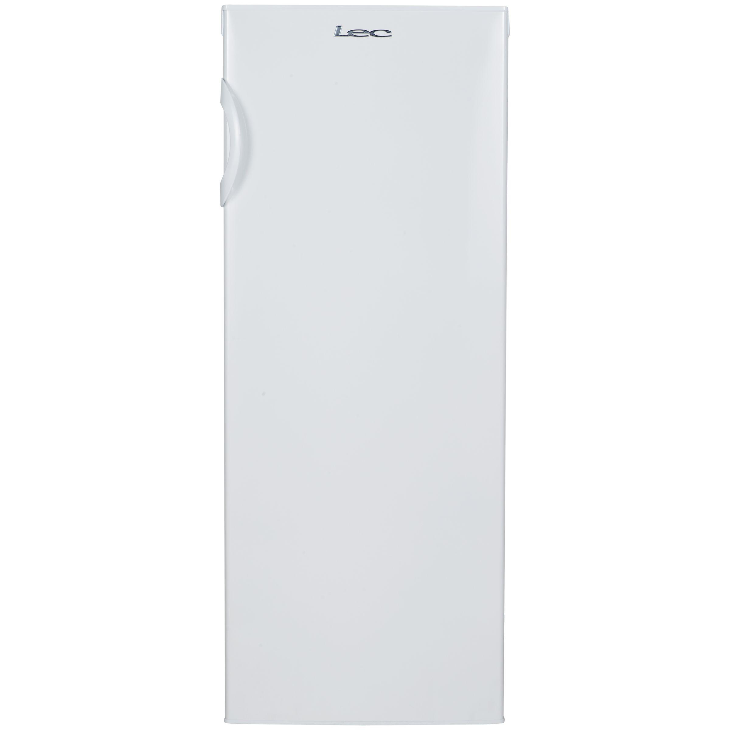 LEC Lec TU55144W Freestanding Tall Freezer, A+ Energy Rating, 55cm Wide, White