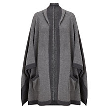 Buy East Hooded Poncho, Slate Online at johnlewis.com