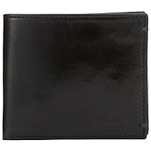 Buy Ted Baker Xoom Contrast Interior Wallet, Black Online at johnlewis.com
