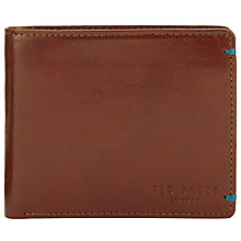 Buy Ted Baker Jeejee Leather Coin Wallet, Tan Online at johnlewis.com