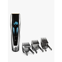 Buy Philips HC9450/13 Series 9000 Hair Clipper, Black/Silver Online at johnlewis.com