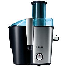 Buy Bosch MES3500GB Juice Extractor, Blue/Silver Online at johnlewis.com