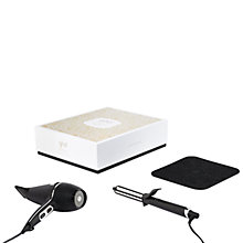 Buy ghd Deluxe Dry & Curl Arctic Gold Gift Set Online at johnlewis.com