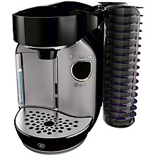 Buy Tassimo Caddy Coffee Machine by Bosch, Silver/Black Online at johnlewis.com