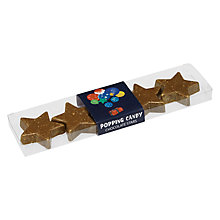 Buy House of Dorchester Man on the Moon Popping Candy Milk Chocolate Star Pack, 60g Online at johnlewis.com