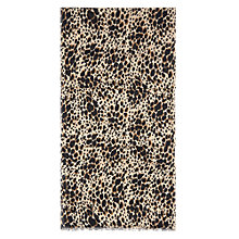 Buy Hobbs Jenna Animal Print Scarf, Beige Multi Online at johnlewis.com