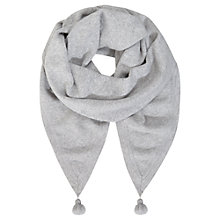 Buy Mint Velvet Star Scarf, Silver Grey Online at johnlewis.com