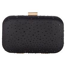 Buy Kaliko Stud Clutch Bag, Black Online at johnlewis.com