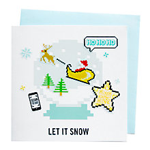 Buy Chipp'd Snowglobe Video Card and Stickers Online at johnlewis.com