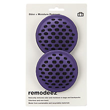 Buy Remodeez Travel Natural Odour and Moisture Remover, Purple, Pack of 2 Online at johnlewis.com