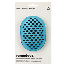Buy Remodeez Natural Odour and Moisture Remover, Blue Online at johnlewis.com