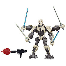 Buy Star Wars Episode VII: The Force Awakens General Grievous Hero Mashers Figure Online at johnlewis.com