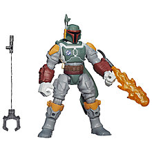 Buy Star Wars Episode VII: The Force Awakens Boba Fett Hero Mashers Figure Online at johnlewis.com