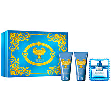 Buy Versace Man Eau Fraiche 50ml Eau de Toilette Fragrance Gift Set Online at johnlewis.com