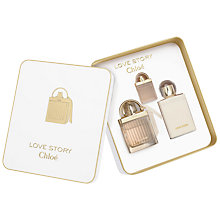 Buy Chloé Love Story 75ml Eau de Parfum Gift Set Online at johnlewis.com