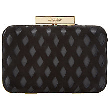 Buy Dune Bestie Clutch Bag, Black Lace Online at johnlewis.com