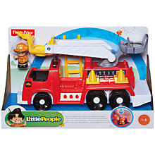 Buy Fisher-Price Little People Rescue Rig Play Set Online at johnlewis.com