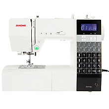 Buy Janome DC7100 Sewing Machine Online at johnlewis.com
