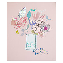 Buy John Lewis Butterfly Birthday Card Online at johnlewis.com