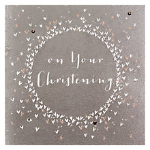 Buy Belly Button Designs On Your Christening Card Online at johnlewis.com