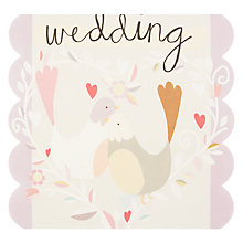 Buy Caroline Gardner FSC-Certified Wedding Birds  Card Online at johnlewis.com