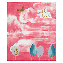 Buy John Lewis With Love Forest Greetings Card Online at johnlewis.com