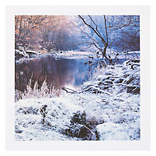 Buy PJF Photography Hoar Frost Card Online at johnlewis.com