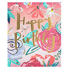 Buy John Lewis Happy Day Birthday Card Online at johnlewis.com