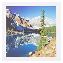 Buy PJF Photography Moraine Lake Card Online at johnlewis.com