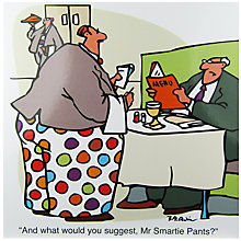 Buy Redback Cards Smartie Pants Greetings Card Online at johnlewis.com