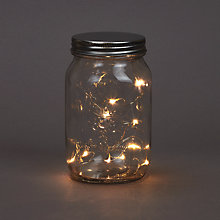 Buy Mason Jar LED Lights, Large Online at johnlewis.com