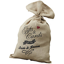 Buy Ginger Ray Vintage Affair Card Sack Online at johnlewis.com