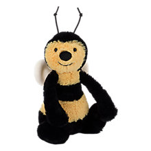 Buy Jellycat Bashful Bee Plush Toy, Small Online at johnlewis.com
