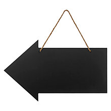 Buy John Lewis Wooden Chalk Board Sign Online at johnlewis.com