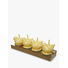 Buy John Lewis Chicken Tealights, Set of 4 Online at johnlewis.com