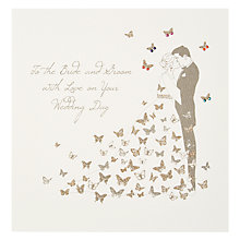 Buy Five Dollar Shake To the Bride and Groom With Love on your Wedding Day Card Online at johnlewis.com