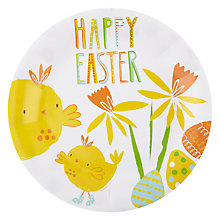 Buy Talking Tables Happy Easter Paper Plate, Pack of 12 Online at johnlewis.com